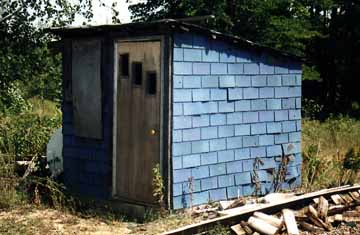 Outhouse or Storage Shed?