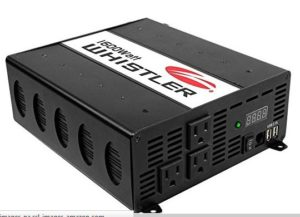 Inverter to power items using a deep cell battery