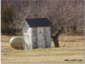 1800's Victorian Outhouse in Ohio