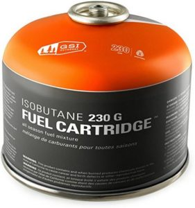 Large Isobutane 230 G Fuel Cartridge