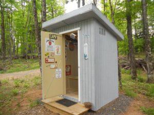 Camp Whiskey Soda Outhouse
