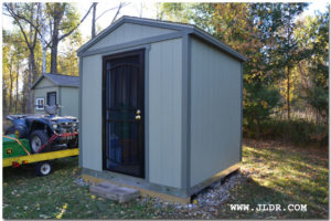 New Hunting Camp Latrine