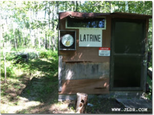 Old Hunting Camp Latrine