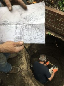 Philadelphia Outhouse Dig map