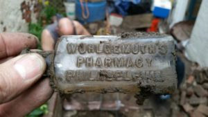 Philadelphia Outhouse Dig Philly Pharm bottle