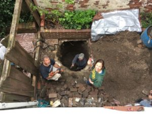 Philadelphia Outhouse Dig 2nd floor shot