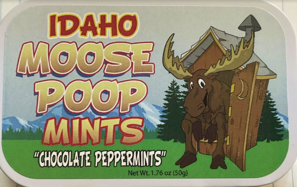 Idaho Moose Poop Mints