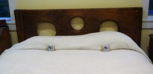 3-Holer Bed Headboard