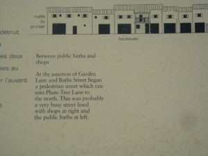 Information at the site of Vienne's toilets.