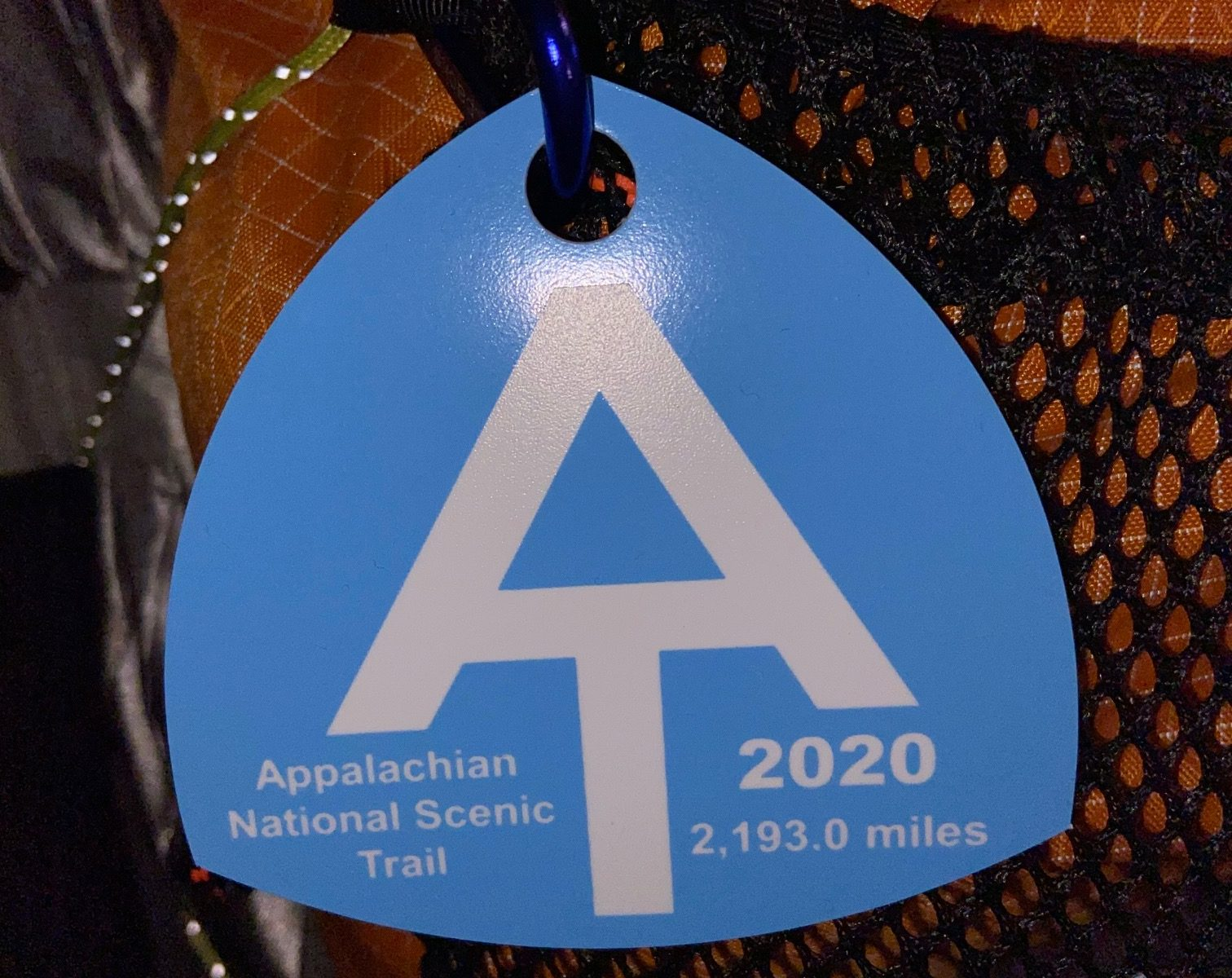 2020 AT Thru-Hiker Tag