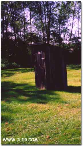Eckley Miner Village Outhouse