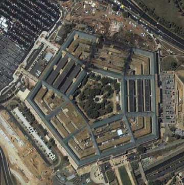The Pentagon on September 11, 2001