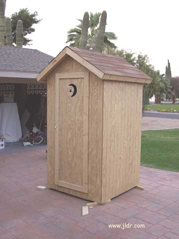 Free Simple Outhouse Plans