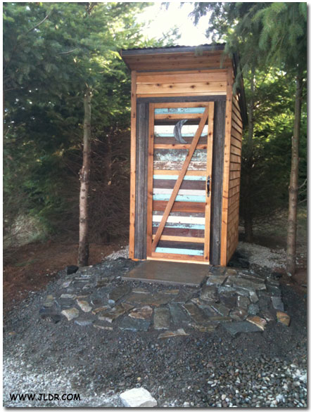 A Playground Outhouse in Oregon