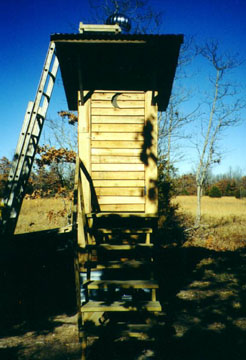 Front View of the Sky Crapper Jr.