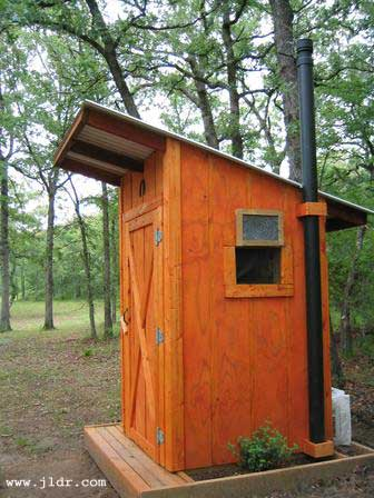 East Texas handmade Outhouse